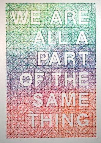 Dominique Falla: We are all a Part of the Same Thing