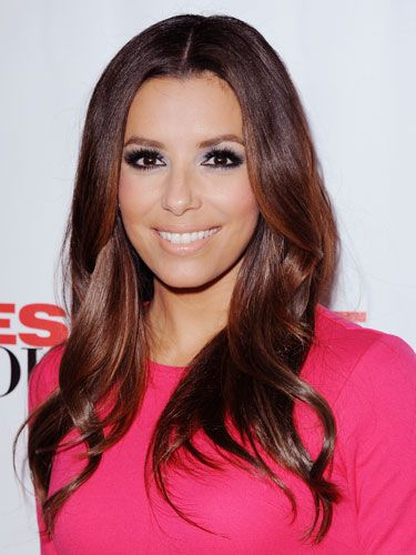 More inspiration from Eva Longoria. Her soft waves are stunning!