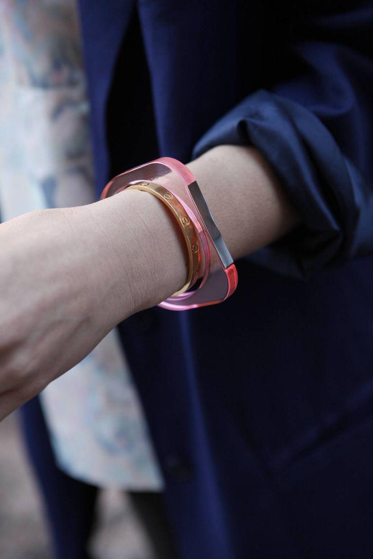 neon plastic bracelet