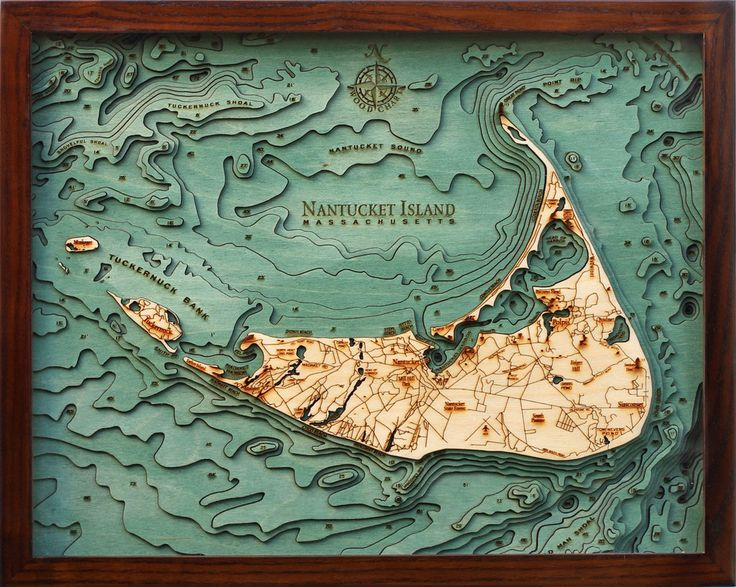 map in relief