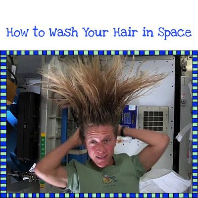 Space Hair - Space Videos from the International Space Station!