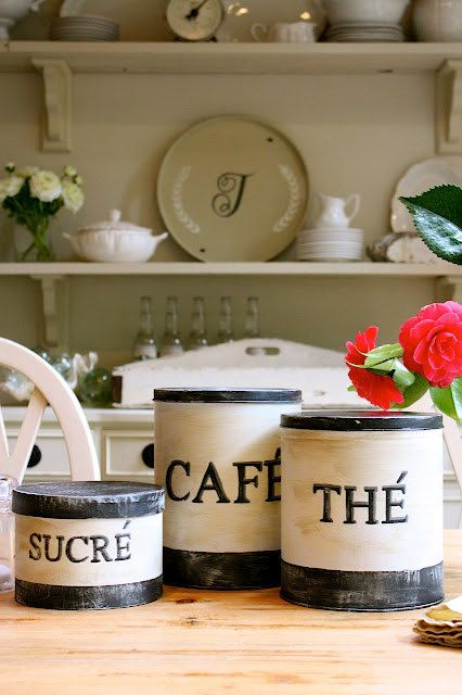 Set of 3 French inspired vintage look kitchen by mysweetsavannah, $48.00