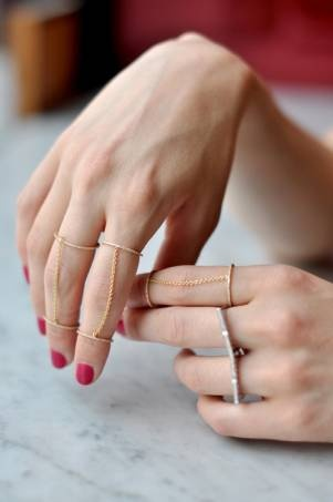 delicate chain rings