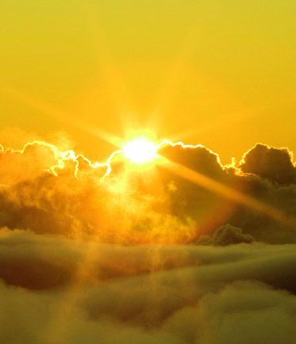 Giallo è il colore del sole