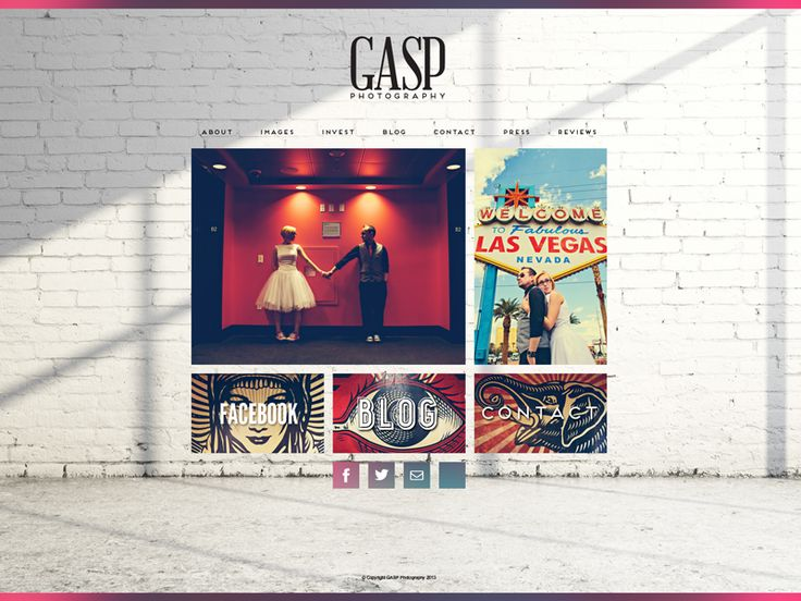 Gasp Photography Website