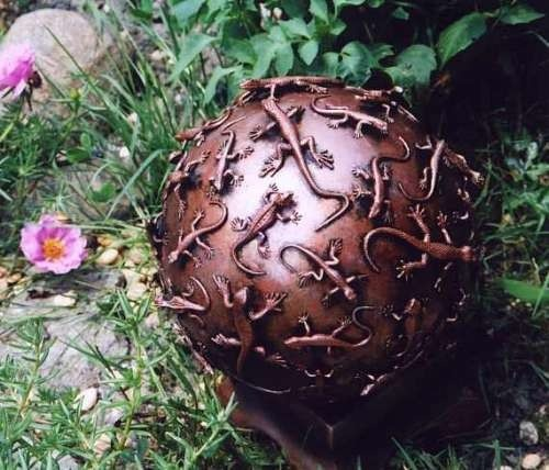 DIY Critter Gazing Ball