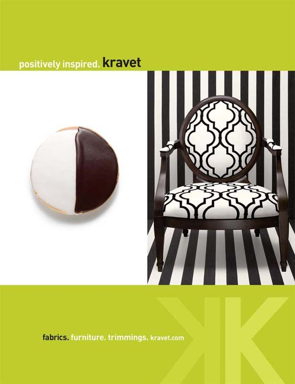 Positively Inspired (2010). Truro chair, Velvet Gate fabric, Cap Deluca wallpaper.