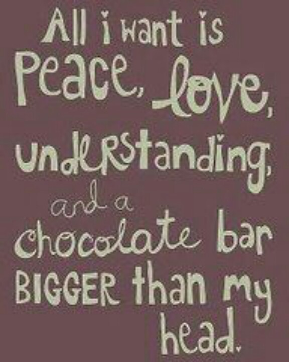 Chocolate quote   chocolate quote