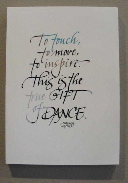 susangaylord.com: Studio Sunday-Dance Quotes