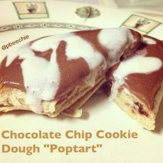 PROTEIN POPTART using quest bars <3