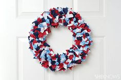 DIY Thursday: 8 Red, White and Blue Crafts for Memorial Day
