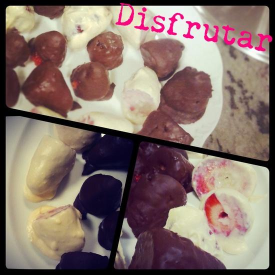 Fresas #disfrutar