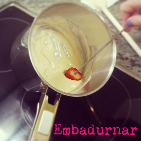 Fresas #embadurnar
