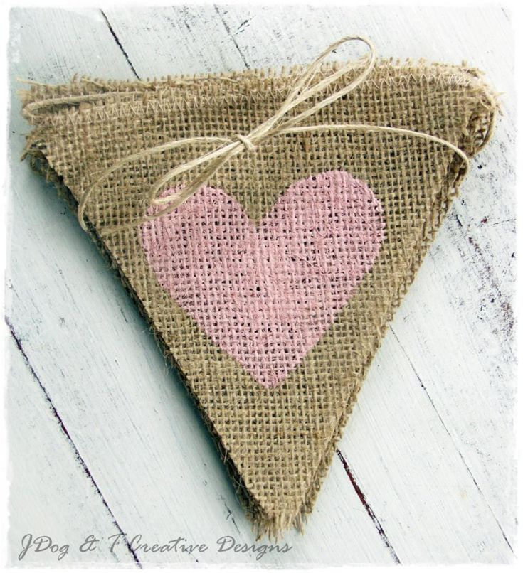 Bunting for Valentine's Day