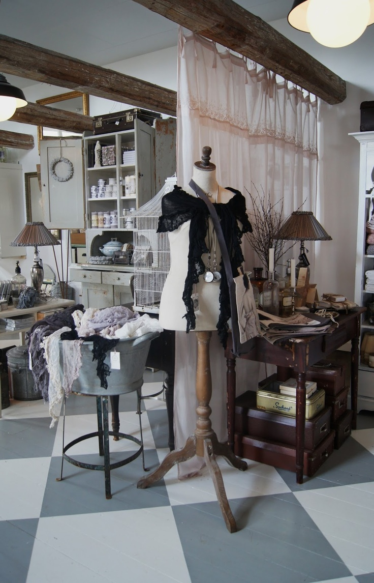 create a back room in your consignment shop