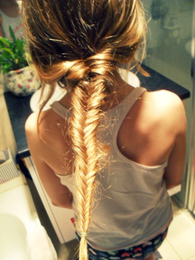 Fishtail braid!