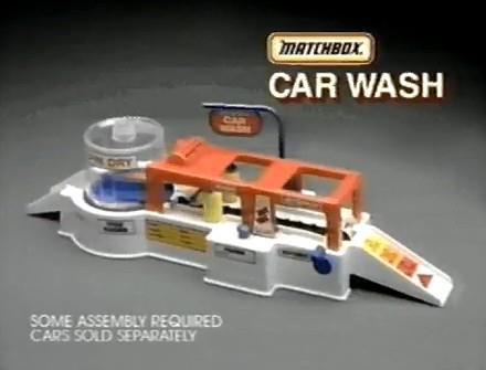 Matchbox Car Wash