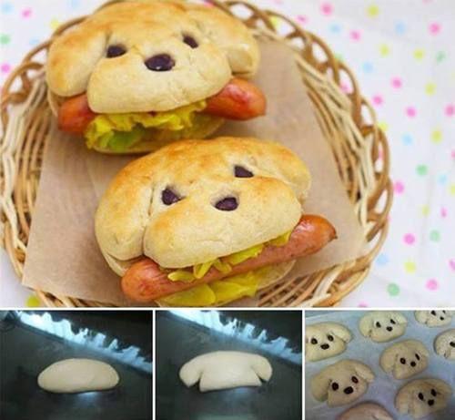 #hot-dog #recipe #recette #hotdog #cute #food #kids #kidults #fun #kawai #kawaii #food #comfortfood #streetfood