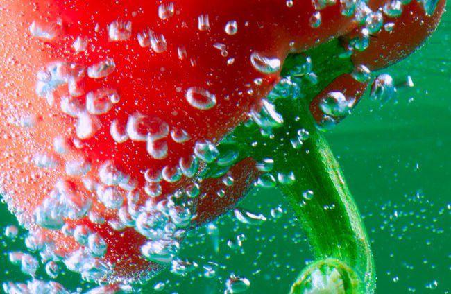 Ensaladas y burbujas