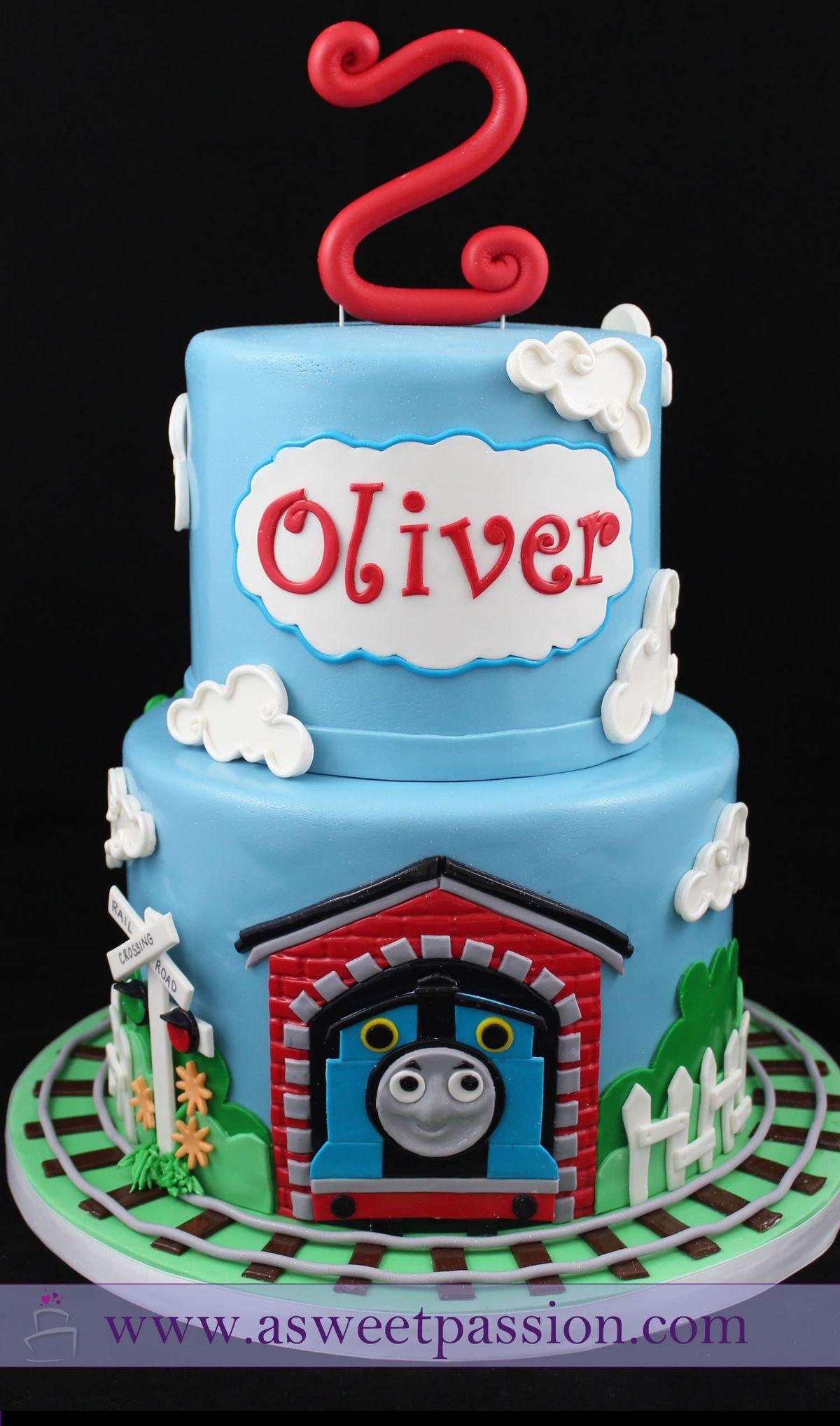 Ideas About Thomas Train Cakes