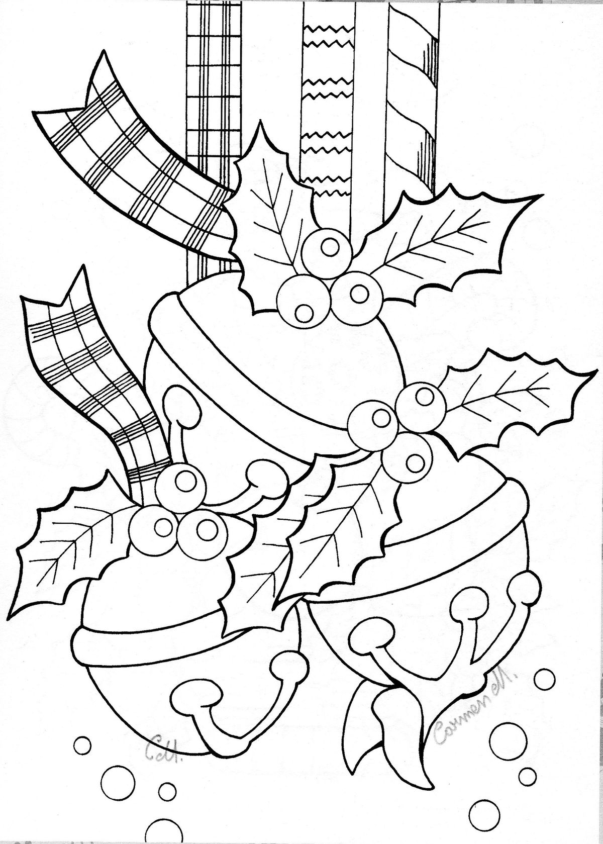 Christmas Lanterns Lanterns And Coloring Pages