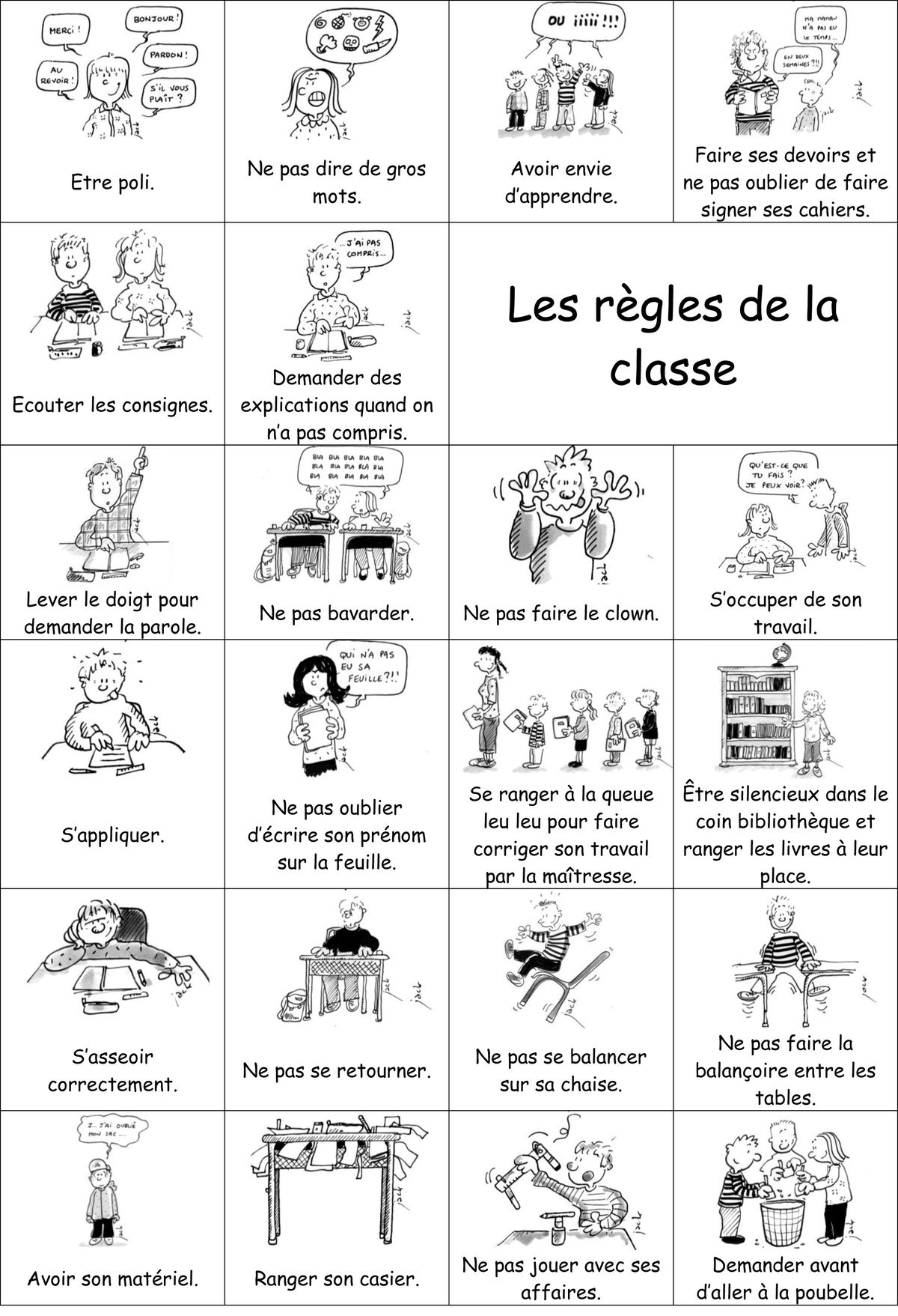 Worksheets Kids Worksheets And In French