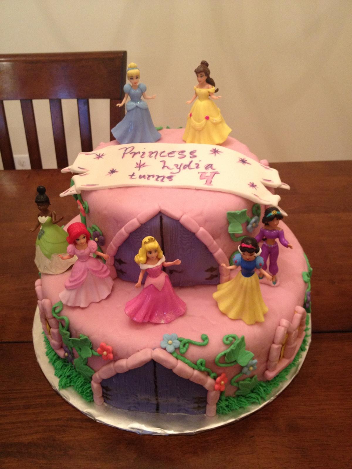 Princess Cakes Disney Princess Cakes And Princesses On
