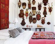 A Wall of Tribal Mas