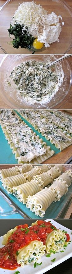 Lasagna Rolls- YUM! These Look Amazing!