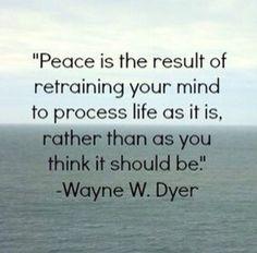 retraining your mind