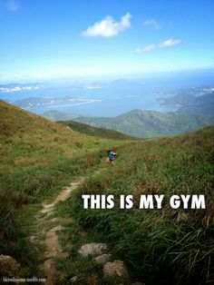 Love this.... it's so us!! Is hiking your gym? Camping? Just being outdoors?