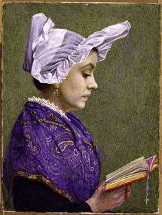 Estella Louisa Michaela Canziani (1887-1964)  ––(546x726)