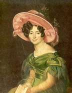 Princess Zinaida Volonsky 1792. Russian nobility, possible lover of Alexander I.  Known as the queen of music and beauty. Moved to Rome after being suspected of converting to Catholicism and was known for her kindness and generosity.