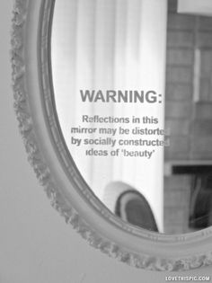 What does beauty mean to you? Can you look in a mirror to find it?