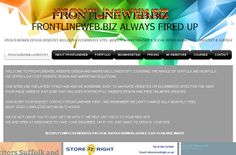 2 December at 00:00 until 10 January at 03:00 in UTC Ticket URL (www.frontlineweb.biz) Where #FRONTLINEWEB# SUFFOLK Description £150 4 PAGE ...