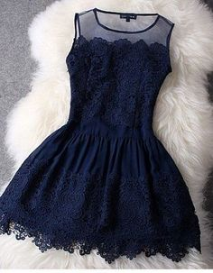 Lace short dresses