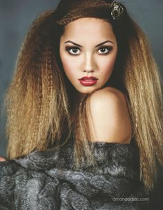 crimped hair awesome hairstyles pinterest