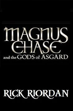 The Sword of Summer (Magnus Chase and the Gods of Asgard, #1) SO excited!