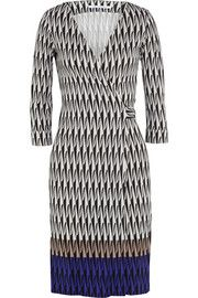 Diane von FurstenbergNew Julian Two silk-jersey wrap dress Long sleeves