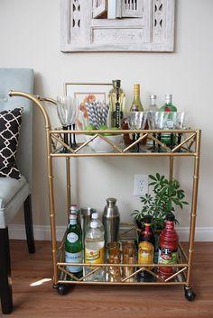 Gorgeous Bar Cart