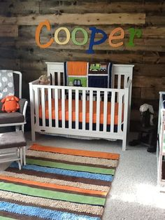 wooden autumn nursery