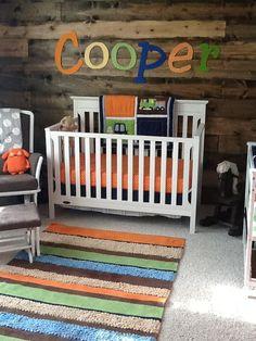 wooden autumn nursery