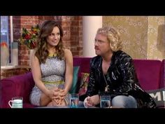 Keith Lemon & Kelly Brook Interview on This Morning 28/2/13