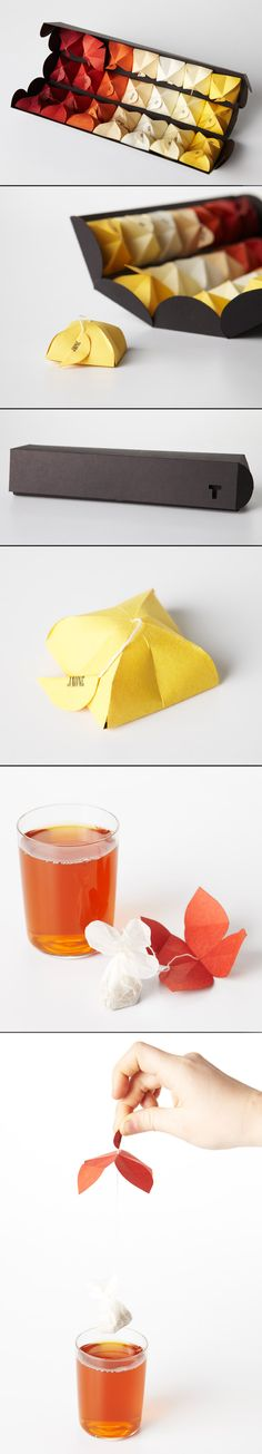 Beautiful tea bag.