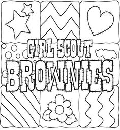 gs coloring pages amp printables on pinterest girl scouts coloring