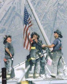 Fire brigade at Ground Zero