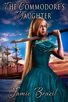 Jamie Brazil ~ The Commodore's Daughter ~  Fifteen-year-old Jennifer Perry dreams of traveling the world, a dream that will never happen now that she's promised to a man twice her age. But what can she do? Run away. To Japan, where her survival is uncertain. Learning the ways of her new world, and the code of the Samurai, she uncovers a plot to ambush the American sailors. Now she must risk her own life in order to save her Commodore father.