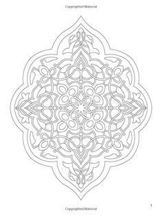 arabic floral patterns coloring book dover design coloring books