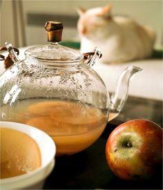 Te de manzana