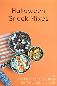 Halloween Snack Mixes